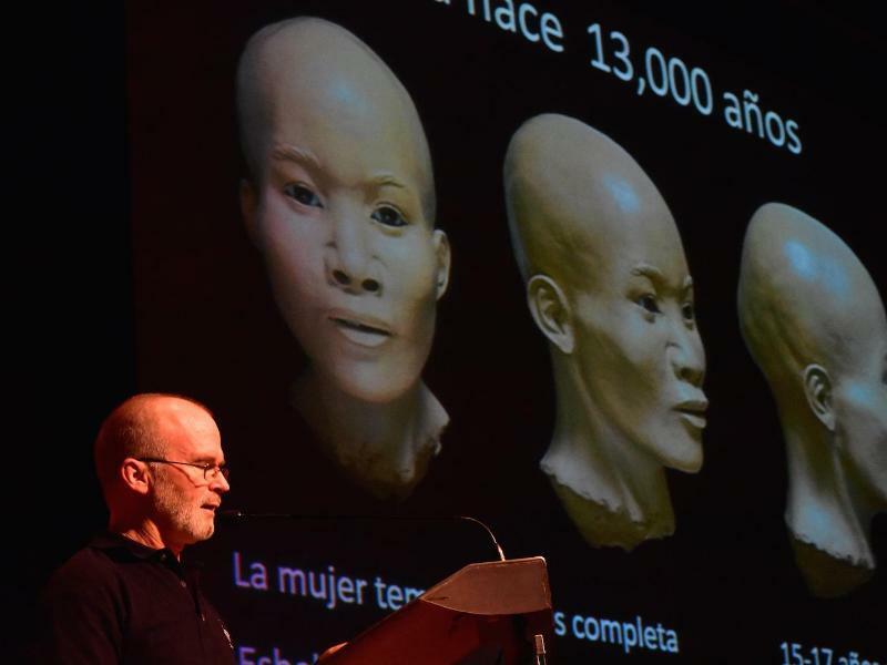 Forscher rekonstruieren Gesicht - Foto: INAH