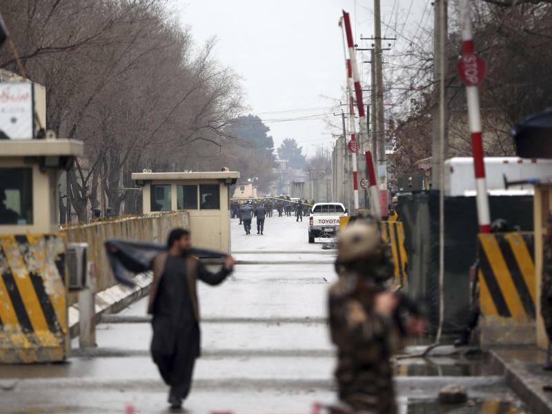 Anschlag - Foto: Massoud Hossaini/AP
