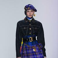 Kreation von Versace - Foto: Jin Yu/Xinhua