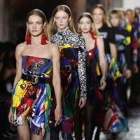 Mailänder Modewoche - Versace - Foto: Antonio Calanni