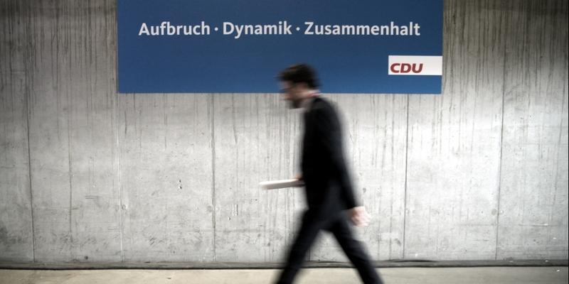 CDU-Slogan Aufbruch, Dynamik, Zusammenhalt - Foto: über dts Nachrichtenagentur