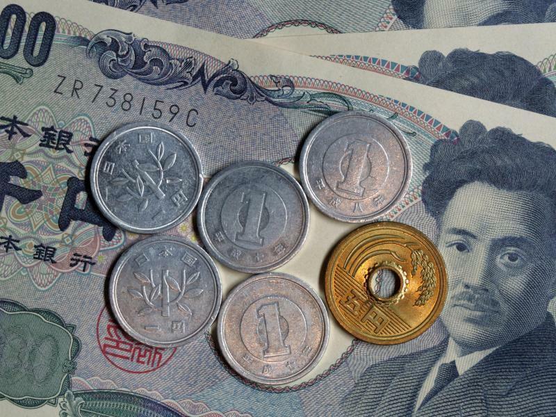 Yen-Münzen - Foto: Jens Büttner