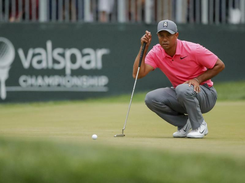 Tiger Woods - Foto: Mike Carlson/AP