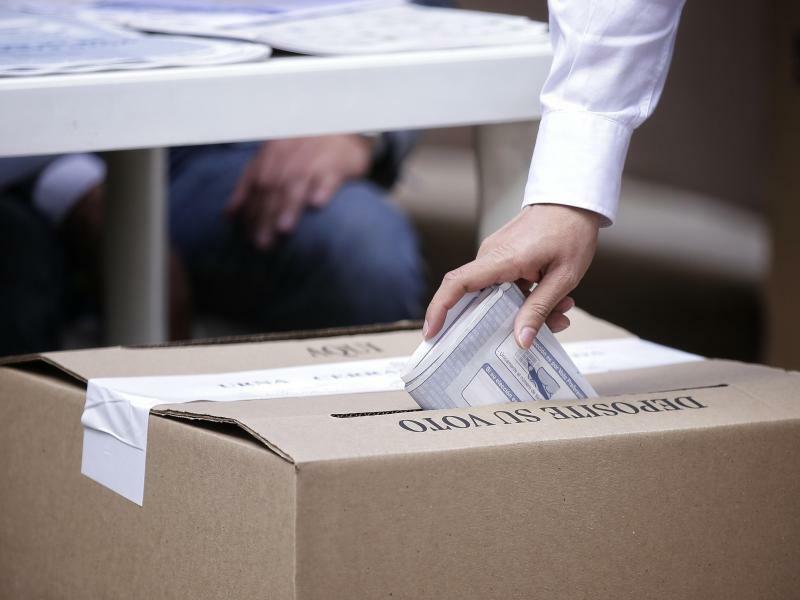 Wahlen in Kolumbien - Foto: Luisa González/colprensa