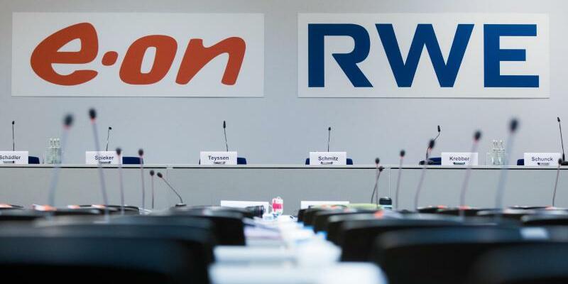 Eon und RWE - Foto: Eon und RWE haben sich auf einen Tausch von Geschäften geeinigt. Foto:Rolf Vennenbernd