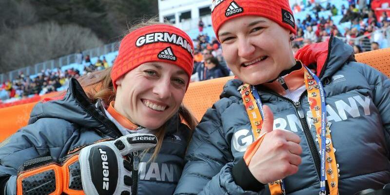 Medaillengewinnerinnen - Foto: Karl-Josef Hildenbrand