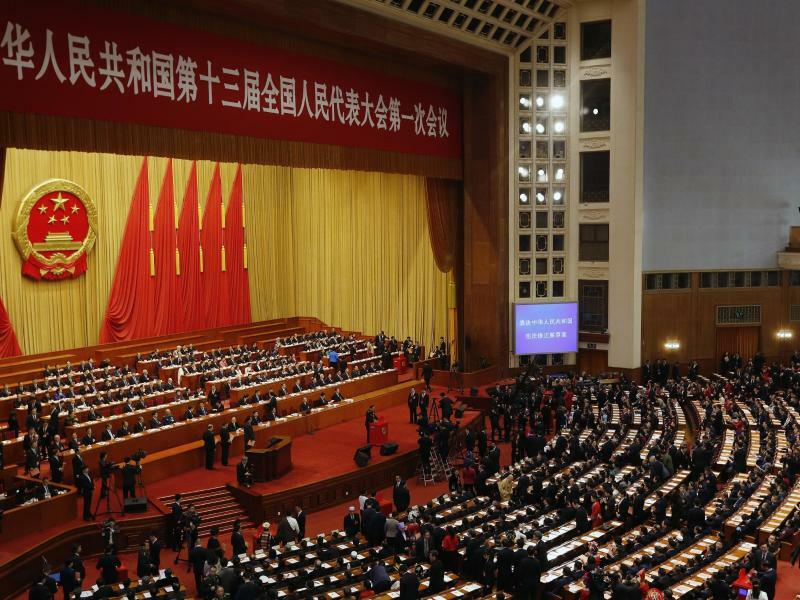 Volkskongresses in China - Foto: Andy Wong/AP