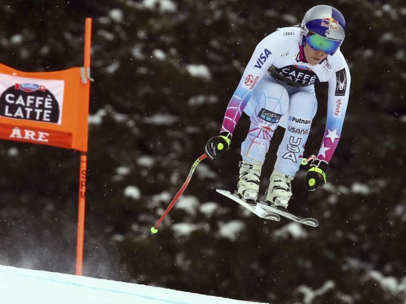 Lindsey Vonn - Foto: Alessandro Trovati/AP