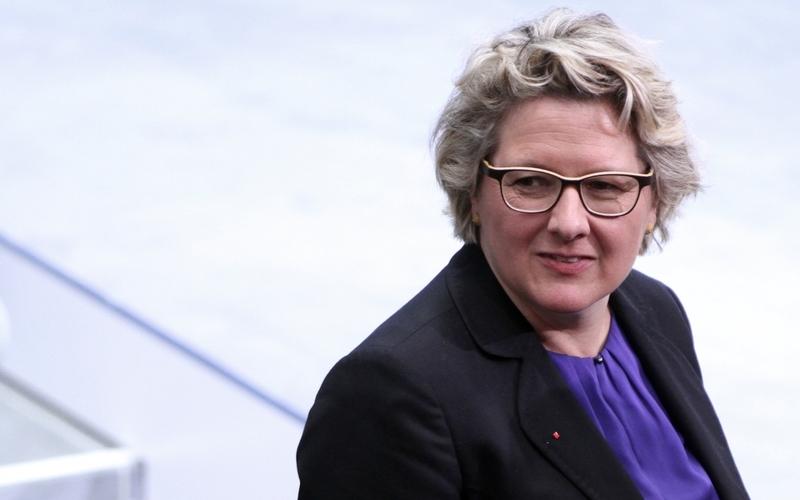 Svenja Schulze - Foto: über dts Nachrichtenagentur