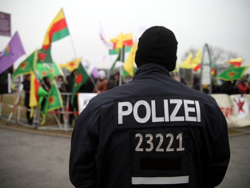 Kurden demonstrieren - Foto: über dts Nachrichtenagentur