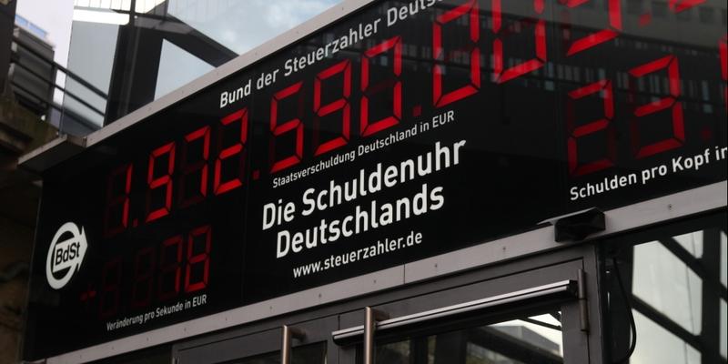 Schuldenuhr - Foto: über dts Nachrichtenagentur