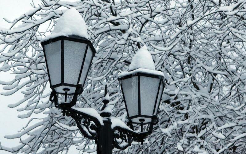 Schneefall in Wernigerode - Foto: Matthias Bein