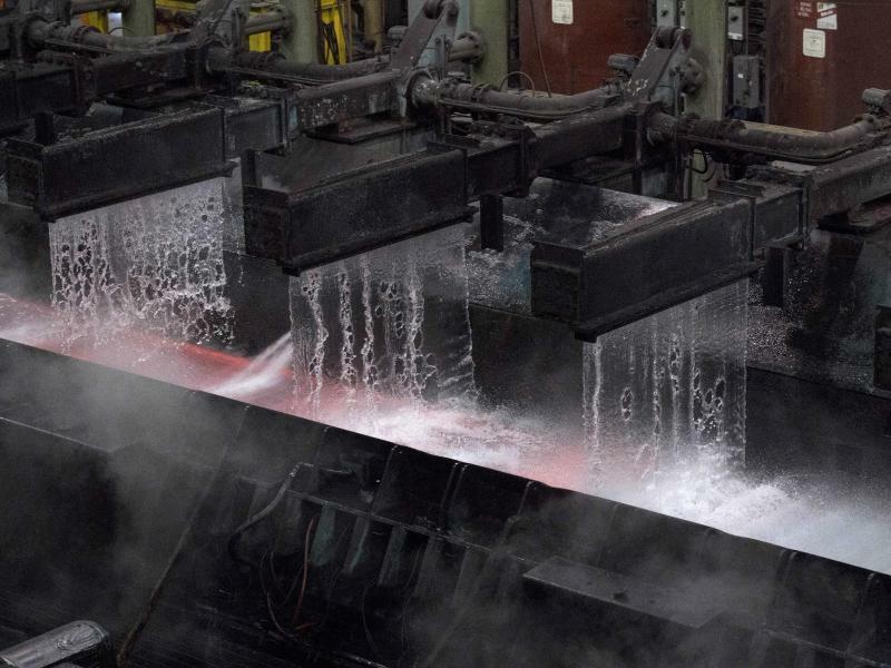 Stahlproduktion - Foto: Justin Tang
