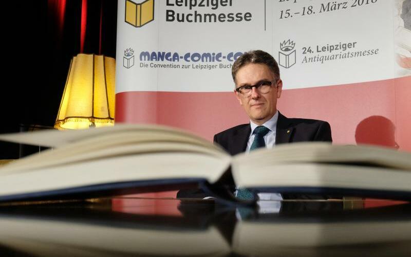 Leipziger Buchmesse - Foto: Laut Oliver Zille muss nicht jedes Jahr ein Gastland im Vordergrund der Messe stehen. Foto:Sebastian Willnow