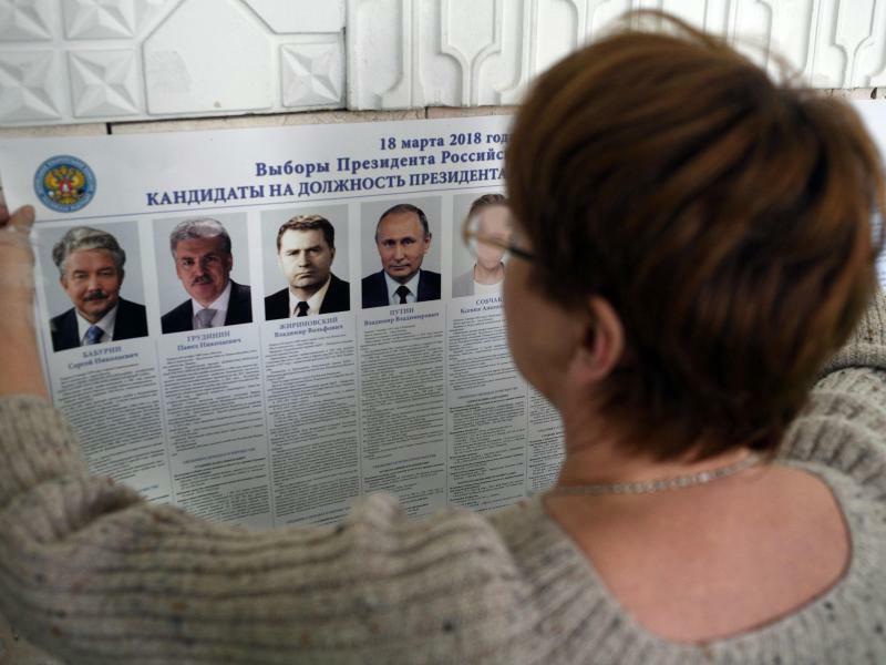 Kandidaten - Foto: Erste Auszählungsergebnisse werden nach 19.00 Uhr MEZerwartet. Foto:AP