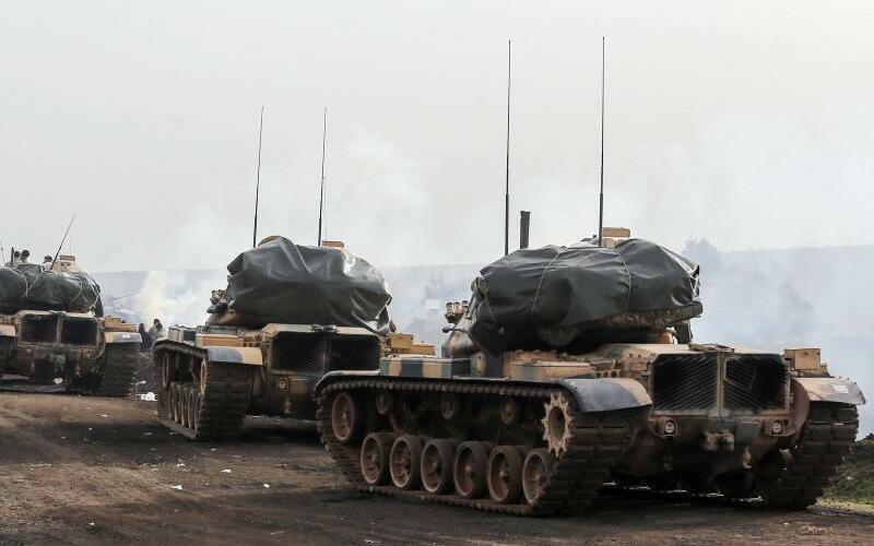 Türkische Offensive - Foto: XinHua/Archiv