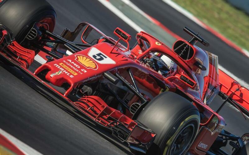 Sebastian Vettel - Foto: Matthias Oesterle/ZUMA Wire