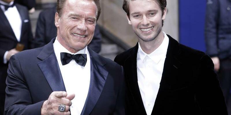 Arnold und Patrick Schwarzenegger - Foto: Jörg Carstensen