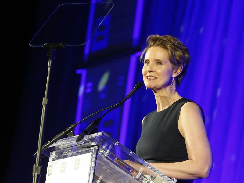 Cynthia Nixon - Foto: Jason Decrow/AP