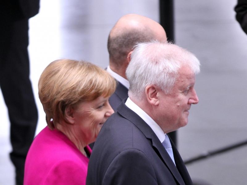 Merkel, Scholz und Seehofer - Foto: über dts Nachrichtenagentur