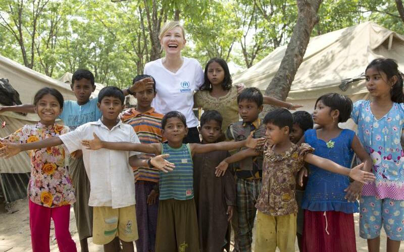 Cate Blanchett - Foto: Hector Perez/UNHCR