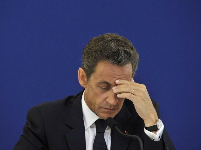 Sarkozy - Foto: Yoan Valat/epa/Archiv