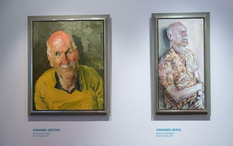 Porträts von Christoph Müller - Foto: Stefan Sauer/dpa-Zentralbild