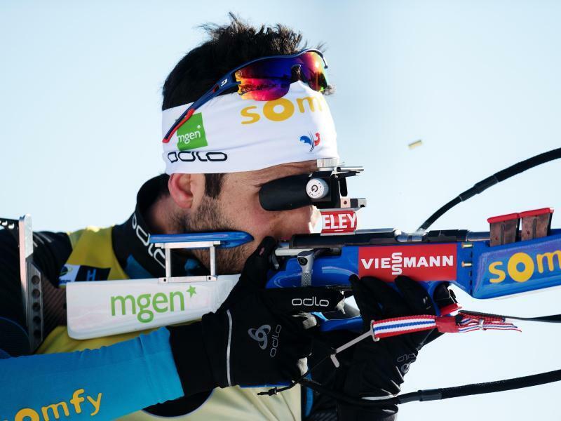 Erfolgshungrig - Foto: Martin Fourcade holte in Tjumen in der Verfolgung seinen 70. Weltcupsieg. Foto:Jan Olav Nesvold/Bildbyran via ZUMA Press