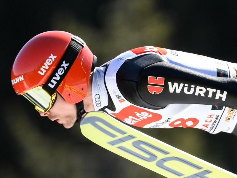 Serie beendet - Foto: Fabian Rießle wurde nach drei Siegen in Serie in Schonach Siebter. Foto:Patrick Seeger