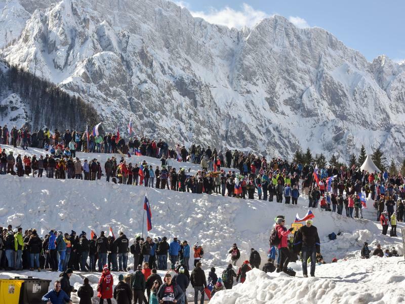 Skispringen in Planica - Foto: Nebojsa Tejic