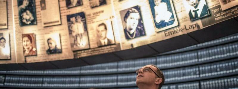 Maas besucht Yad Vashem - Foto: Ilia Yefimovich