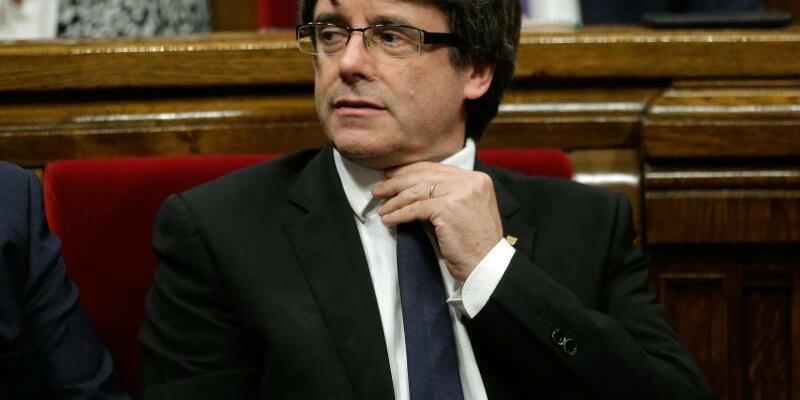 Carles Puigdemont - Foto: Manu Fernandez/AP