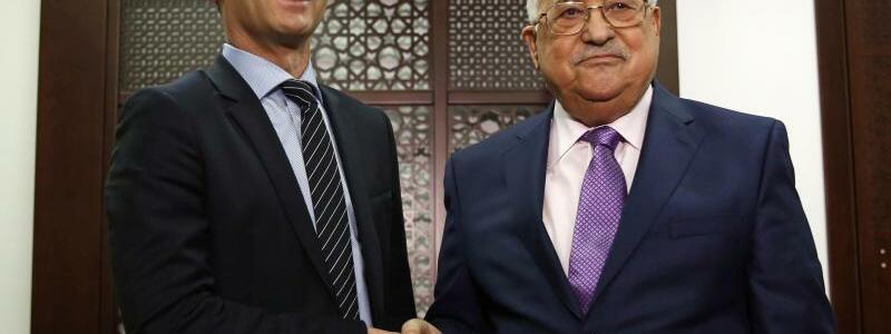Maas besucht Ramallah - Foto: AP