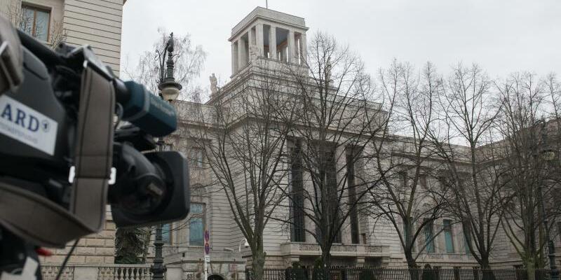 Russische Botschaft in Berlin - Foto: Paul Zinken