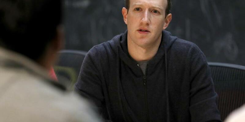 Mark Zuckerberg - Foto: Jeff Roberson/AP