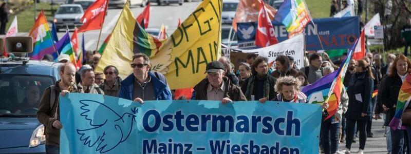 Ostermarsch Mainz-Wiesbaden - Foto: Frank Rumpenhorst