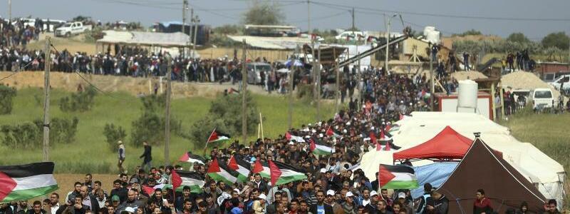 «Marsch der Rückkehr» - Foto: Khalil Hamra/AP