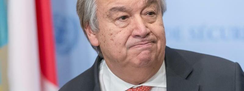 UN-Generalsekretär Guterres - Foto: Albin Lohr-Jones /Pacific Press via ZUMA Wire/Archiv