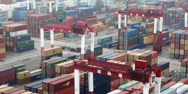 Hafen von Qingdao - Foto: Wu Hong, EPA