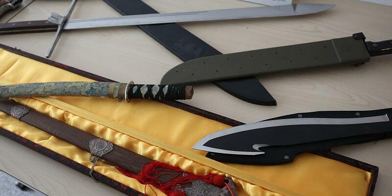 Beschlagnahmte Waffen - Foto: Oliver Berg