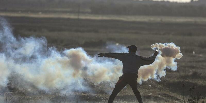 Proteste im Gazastreifen - Foto: Wissam Nassar