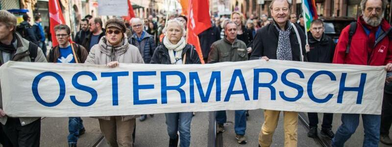 Frankfurter Ostermarsch - Foto: Frank Rumpenhorst