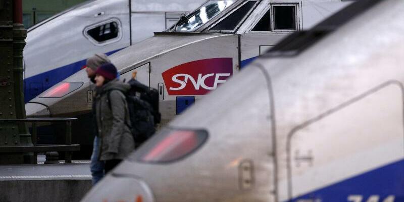 SNCF-Züge - Foto: Yoan Valat/EPA