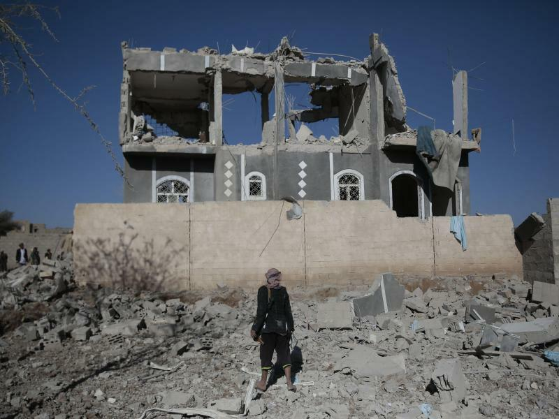 Krieg im Jemen - Foto: Hani Al-Ansi