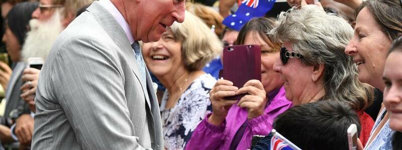 Prinz Charles in Australien - Foto: Dan Peled