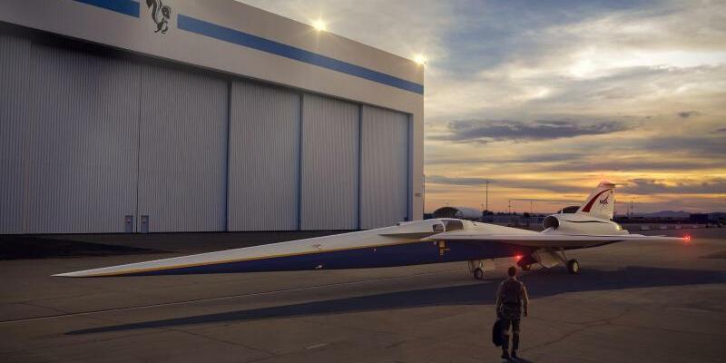 Nasa X-plane - Foto: Lockheed Martin/Nasa