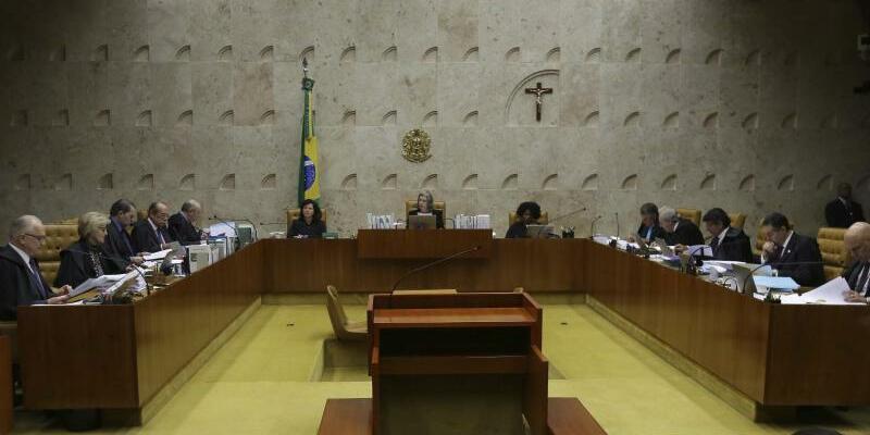 Oberster Gerichtshof - Foto: Eraldo Peres/AP