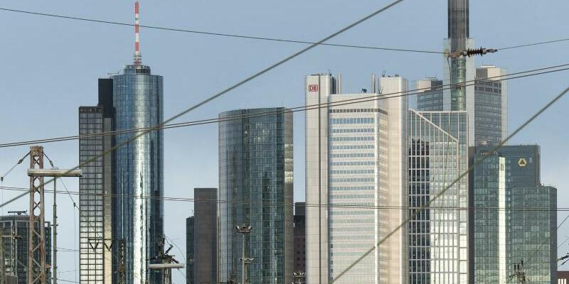 Bankenskyline in Frankfurt - Foto: Fabian Sommer