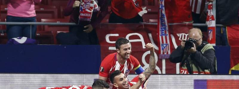 Atletico Madrid - Sporting Lissabon - Foto: Francisco Seco/AP