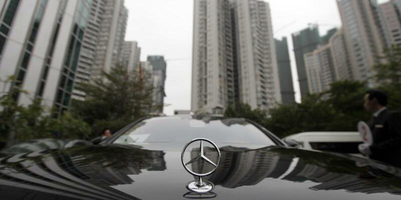 Mercedes in China - Foto: Kay Nietfeld